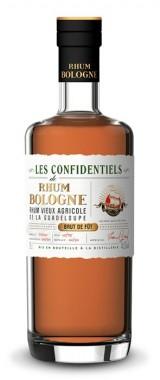 """Rhum Bologne """"Les Confidentiels"""" Brut de Fût 2009"""