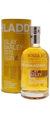 "Whisky ""Islay Barley"" Distillerie Bruichladdich 2010 Ecosse en étui"