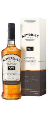 Whisky Bowmore N°1 Ecosse en étui