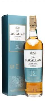Whisky Macallan 15 ans en étui