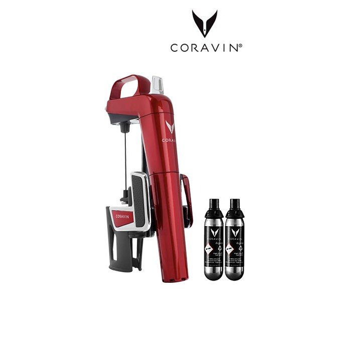 Coravin Model Two Elite Pomme d'Amour (2 capsules incluses)