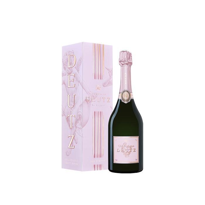 """Champagne Brut """"Rosé"""" Maison Deutz en coffret"""