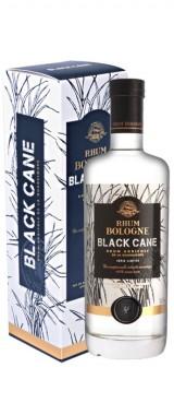 """Rhum Bologne """"Black Cane"""" blanc en étui"""