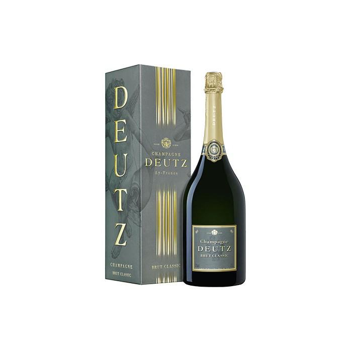 """Magnum Champagne """"Brut Classic"""" Maison Deutz en coffret"""