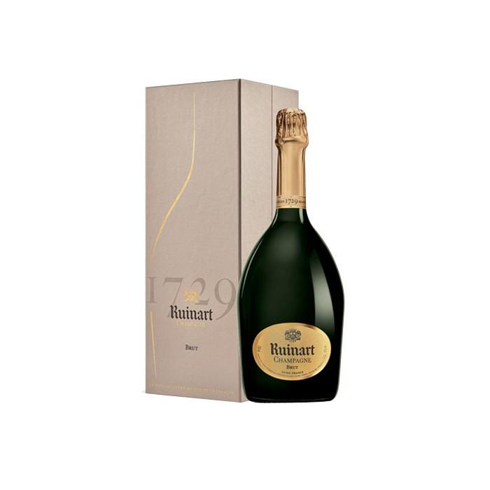"""Magnum Champagne """"R de Ruinart"""" Maison Ruinart en coffret"""