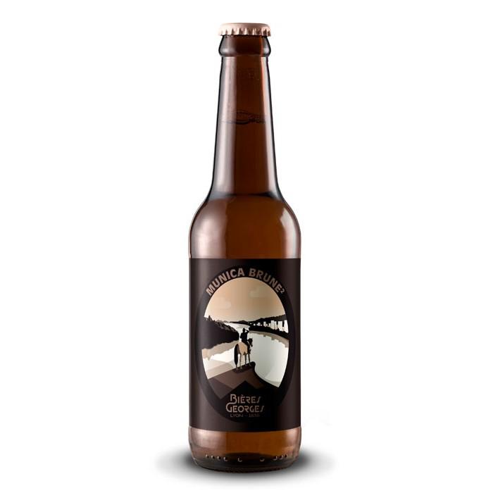 Bière Georges Munica Brune