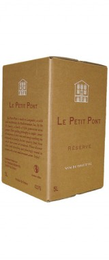 """BIB 5L Pays d'Oc """"Le Petit Pont Réserve"""" Domaine Robert Vic"""