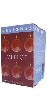BIB 10L Pays d'Oc Merlot Domaine Robert Vic