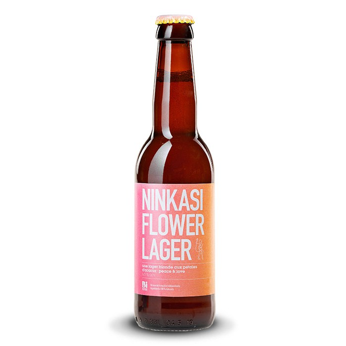 """Bière """"Flower Lager"""" Ninkasi"""