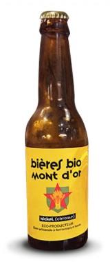 """Bière """"Nickel Chrome"""" Bières Bio des Monts d'Or"""