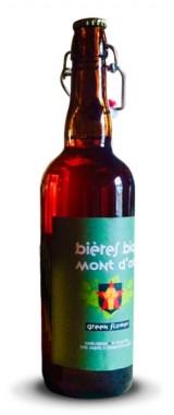 """Bière """"Green Flower"""" Bières Bio des Monts d'Or BIO"""