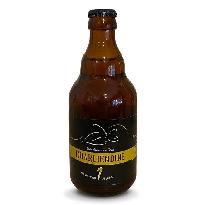 """Bière blonde """"Charliendine"""" Les Brasseurs du Sornin"""