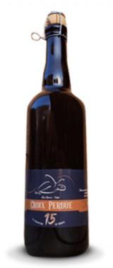 """Bière ambrée """"Croix Perdue"""" Les Brasseurs du Sornin"""