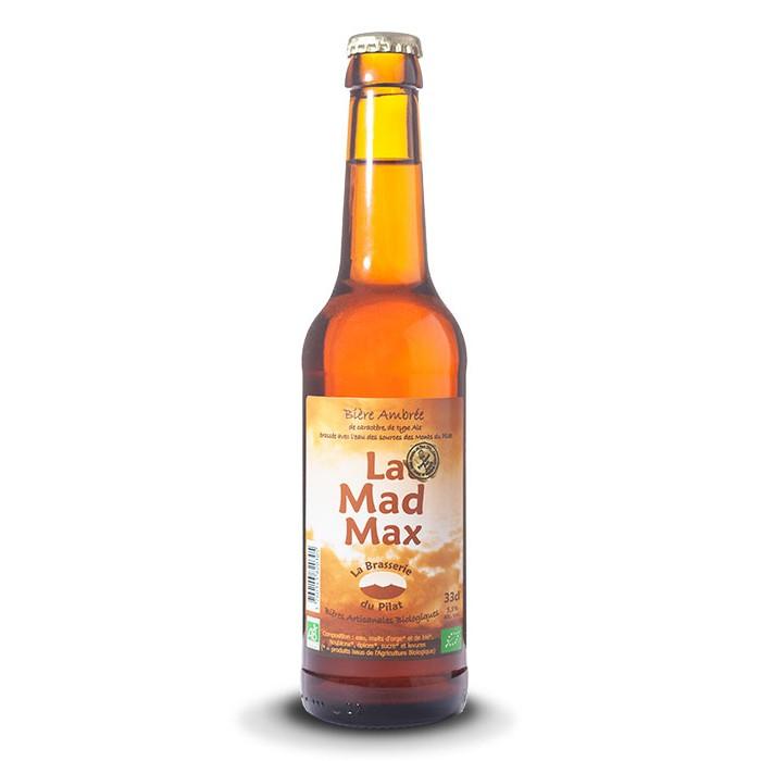 """Bière """"La Mad Max"""" Brasserie du Pilat"""