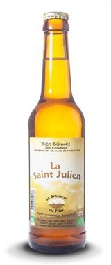 """Bière """"La Saint Julien"""" Brasserie du Pilat"""