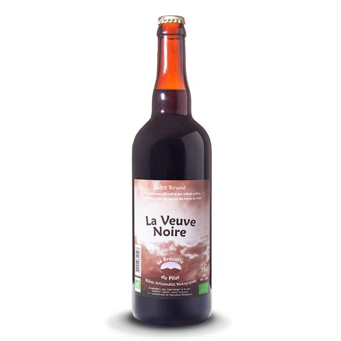 """Bière """"La Veuve Noire"""" Brasserie du Pilat"""
