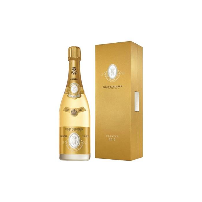 "Champagne ""Cristal"" Maison Louis Roëderer en coffret"