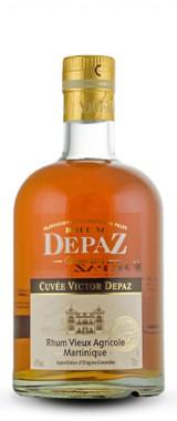 """Rhum """"Cuvée Victor Depaz"""" 3 ans Martinique"""