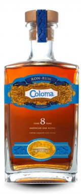 Rhum Coloma 8 ans 40° Colombie