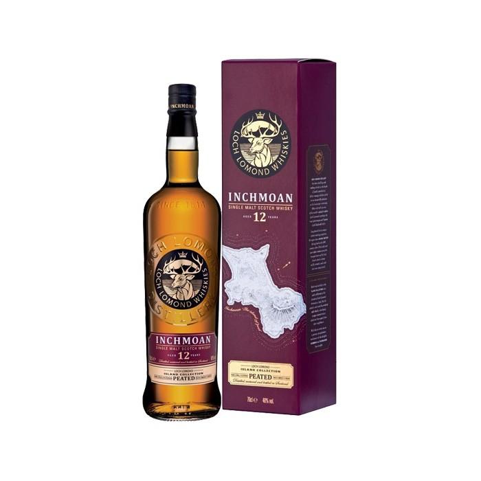 """Whisky Loch Lomond 12 ans """"Inchmoan"""" Ecosse"""