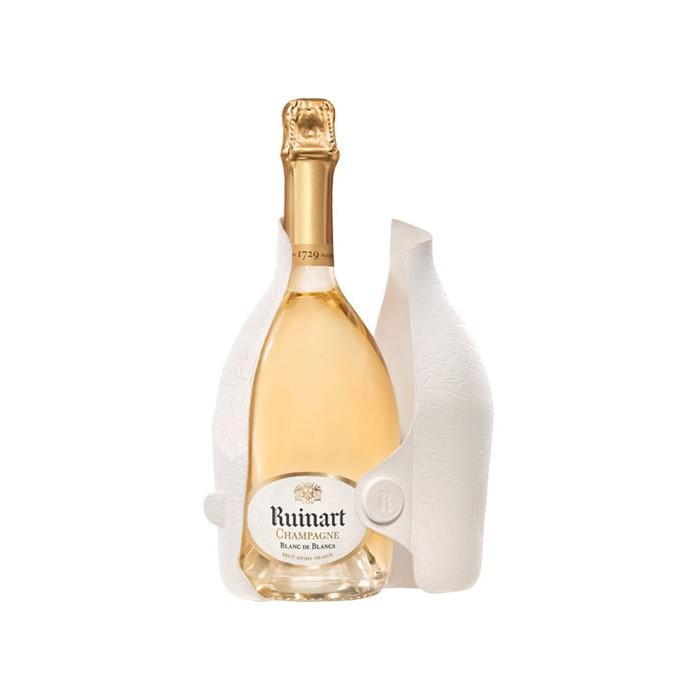 """Champagne """"Blanc de Blancs"""" Maison Ruinart en coffret édition limitée """"Second Skin"""""""