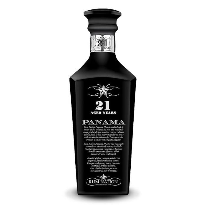 Rhum Nation Panama 21 ans