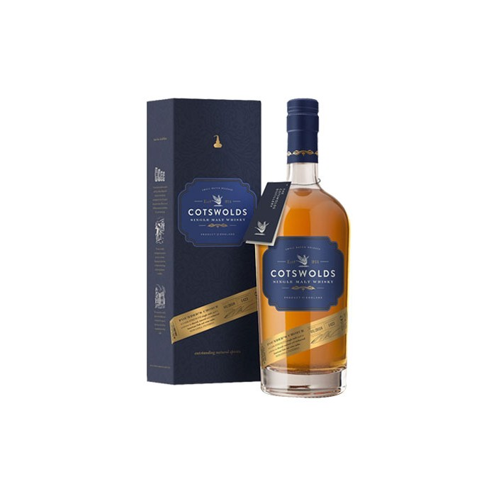 Whisky Cotswolds Founder's choice Cask Strength