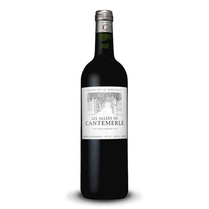 """""""Les Allées de Cantemerle"""" Second Vin du Château Cantemerle Haut-Médoc"""