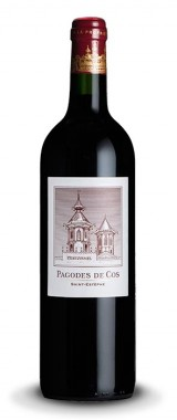 """""""Pagodes de Cos"""" Second Vin du Château Cos d'Estournel Saint-Estèphe"""