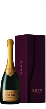"""Champagne Krug """"Grande Cuvée"""" en coffret"""