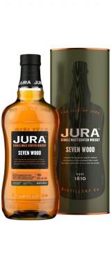 "Whisky Jura ""Seven Wood"" Ecosse en étui"