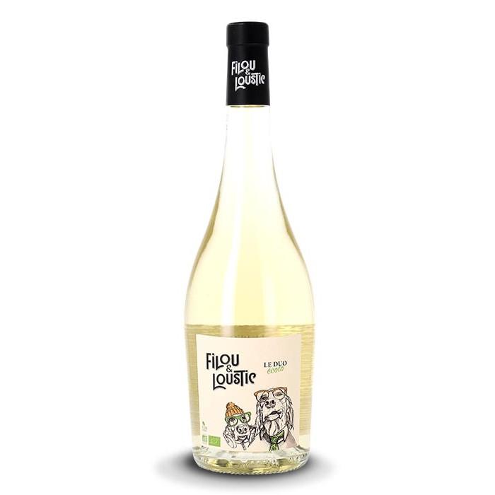 """Vin de France """"Filou & Loustic"""" Domaine Robert Vic BIO"""