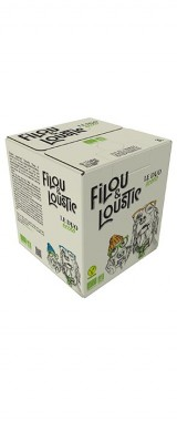 "BIB 3L Vin de France ""Filou & Loustic"" Domaine Robert Vic BIO"