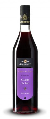 """Crème de cassis """"Le Pur"""" 20° Maison Jacoulot"""