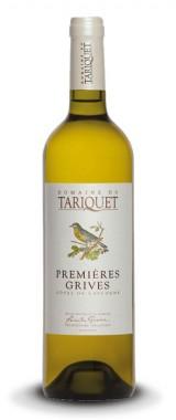 """Côtes-de-Gascogne """"Premières Grives"""" Domaine du Tariquet"""