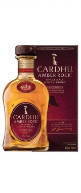 "Whisky ""Cardhu Amber Rock"" Single Malt 40° Ecosse en étui"