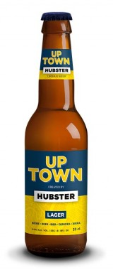 "Bière ""Up Town Lager"" Hubster"