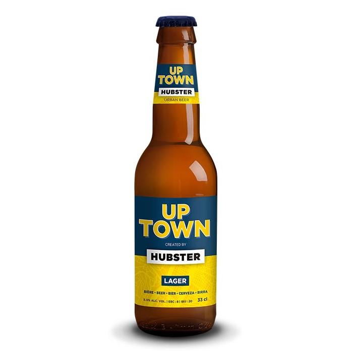 "Bière ""Up Town Lager"" Hubster"