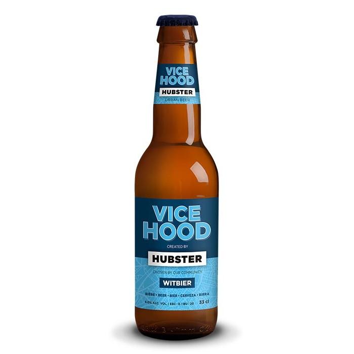 "Bière ""Vice Hood"" Witbier Hubster"