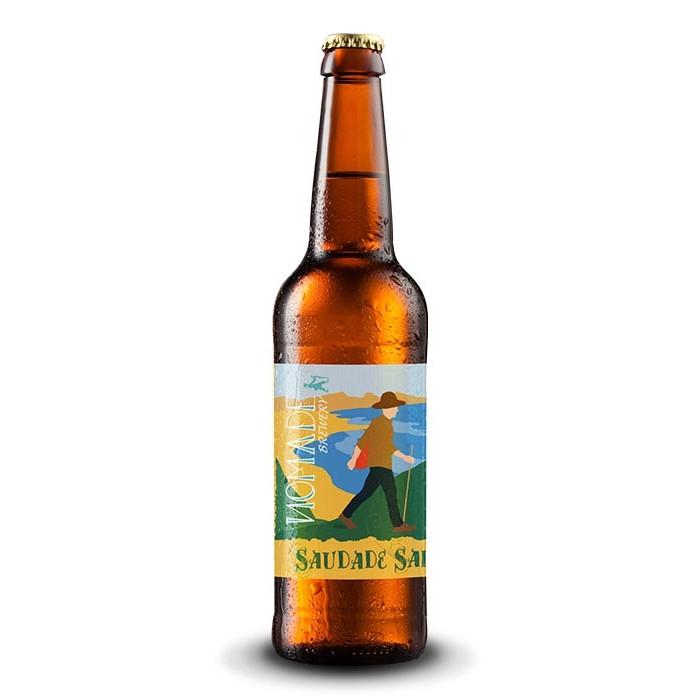"""Bière """"Saudade Saison"""" Nomade BIO"""
