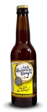 """Bière blonde """"Au fil du temps"""" Les Bières du Temps BIO"""