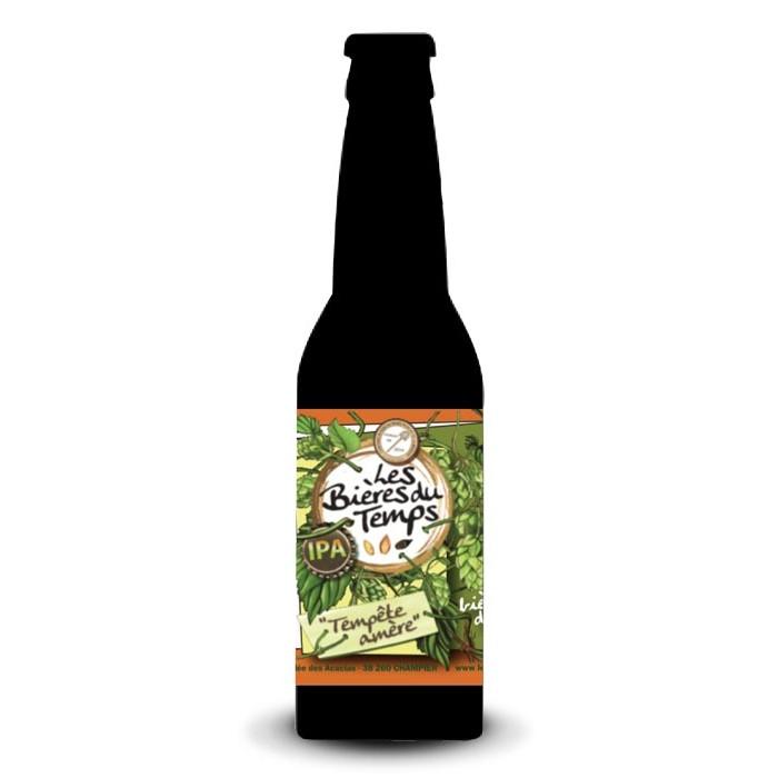 """Bière IPA """"Tempête Amère"""" Les Bières du Temps BIO"""