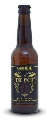 "Bière Grihète ""The Eight"" Brasserie Artisanale du Sud"