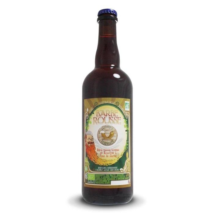 "Bière ""Barbe Rousse"" Barbaroux"