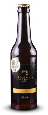 """Bière """"Blonde"""" Rivière d'Ain"""
