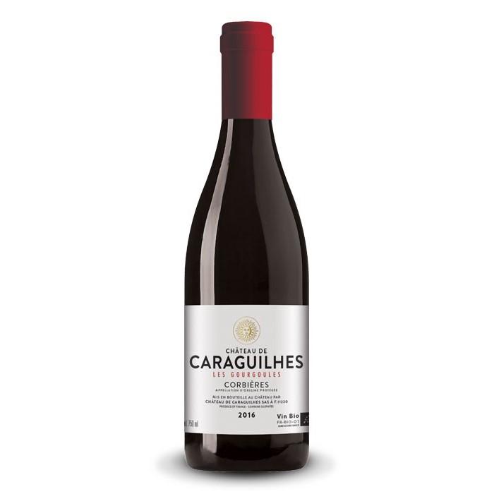"""Corbières """"Les Gourgoules"""" Château de Caraguilhes BIO 2017"""