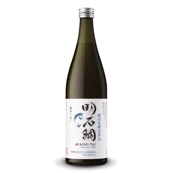 """Saké Akashi-Taï """"Honjozo Genshu Tokubetsu"""" Japon"""