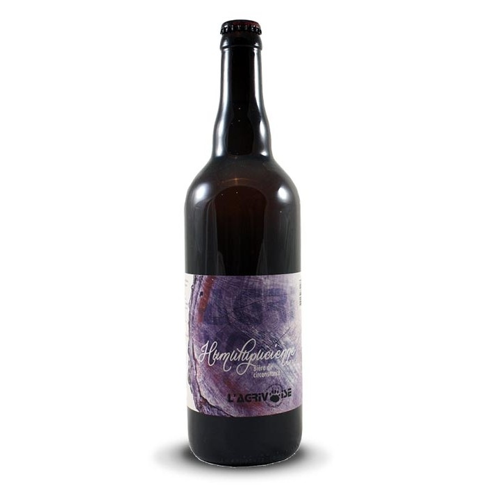"""Bière """"Humulupucienne"""" L'Agrivoise"""