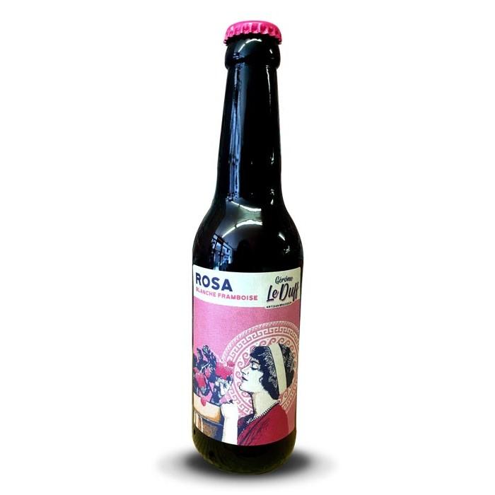 """Bière """"Rosa"""" Le Duff"""