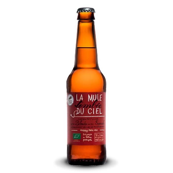 """Bière """"La Mule Tombée du Ciel"""" La Vieille Mule BIO"""